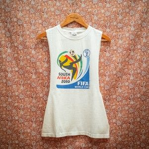 FIFA South Africa 2010 World Cup Tank Top